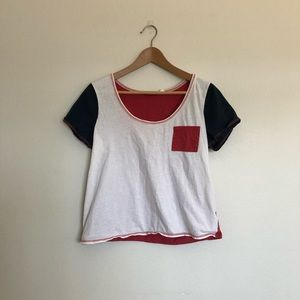 Urban Outfitters BDG Colorblock Pocket Tee